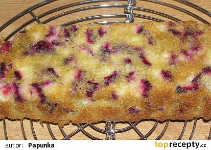 Křupavý švestkový koláč