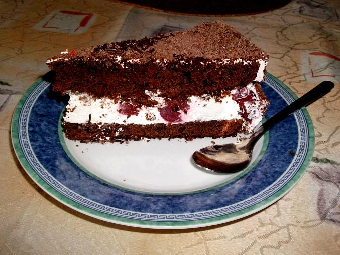 Švarcvaldský dort