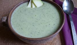 Cuketová krémová polévka ze tří surovin