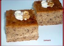 Nadýchaný blondies koláč