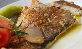 """Filet z ryby """"Bibi"""" na citronech s kouřovou vůní"""