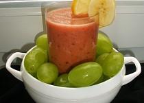 Smoothie s mrkví a ovocem