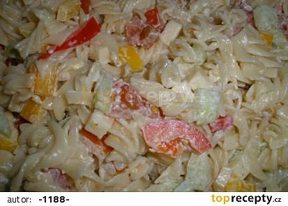 Těstovinový salát-recept