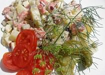 Bramborový salát s matjesy