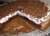 Jednoduchý čokoládový dort bez mouky