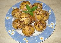 Mátové muffiny