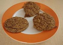 Vanilkové pohankové sušenky