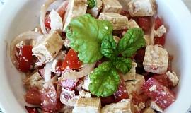 Rajčatový salát s tofu