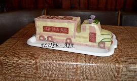 Slaný dort - kamion