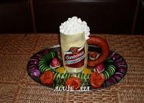 Slaný dort - půllitr