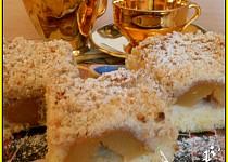 Bramborový koláč s meruňkami
