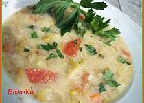 Lilková polévka s brokolicí