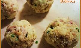 Masovo-kuskusové knedlíčky do polévky