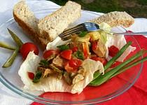 Pikantní salát z hovězího masa