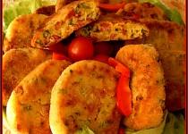 Bramborovo-uzeninové smažené placičky