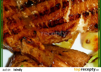 Marinovaný žraločí steak