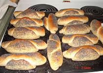 Domácí rohlíky jako z pekárny