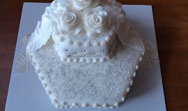 Svatební dort pro kamarádku