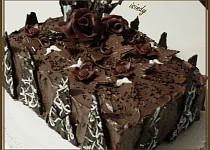 Čokoládovo-kakaový dort