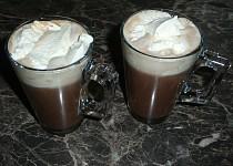 Čokoládovo - kávová pěna