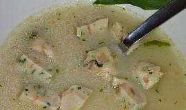 Chlebové knedlíčky s medvědím česnekem - do polévky