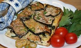 Řecký slaný koláč s listovým špenátem