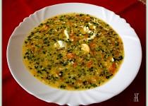 Vydatná polévka s vůní bylinek