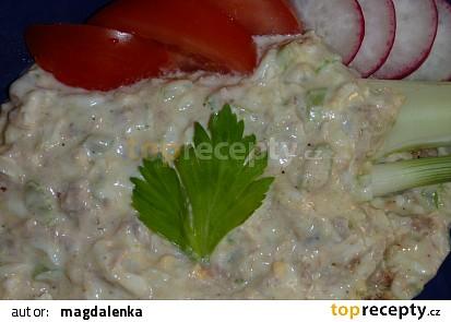 Tuňákový krém s řapíkatým celerem