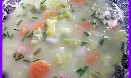 Taková polévečka s hlívou a droždím