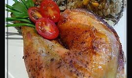 Kuře čimičuri s divokou rýží v ŘH