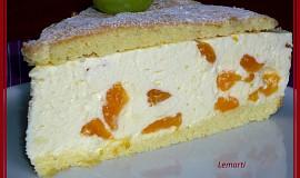 Tvarohovošlehačkový dort