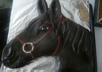 Hlava koně - dort č. 5