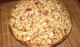 Jablkový koláč se smetanou*