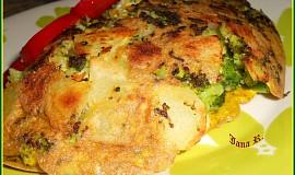 Brokolicovo-bramborová omeleta