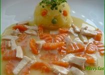 Kuřecí nudličky s mrkví - pro děti