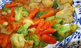 Smažená zelenina