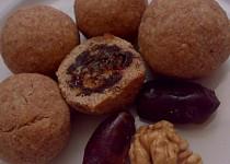 Datlovo-ořechové kuličky