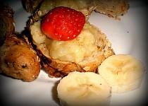 Karamelová banánová pomazánka