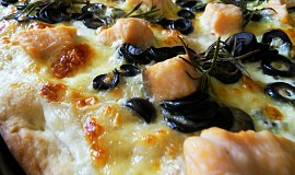 Al salmone - Pizza s lososem