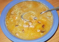 Klobásová polévka