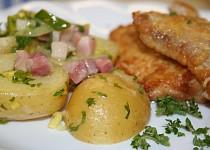 Marinované nové brambory
