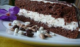 Míšův tvarohovo-banánový dortík