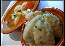 Polévkové rýžové noky