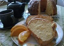 Pomerančová bábovka s pomerančovou polevou