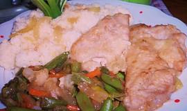 Rychlý oběd z vepřového masa