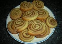 Skořicové sušenky - šneky