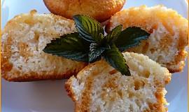 Dvoubarevné muffiny s podmáslím