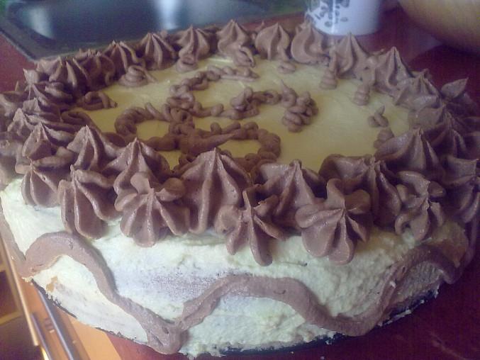 Vanilkovo karamelový dort