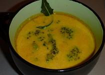Voňavá mrkvová polévka s brokolicí