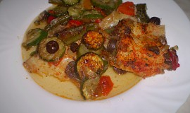 Zeleninový pangasius